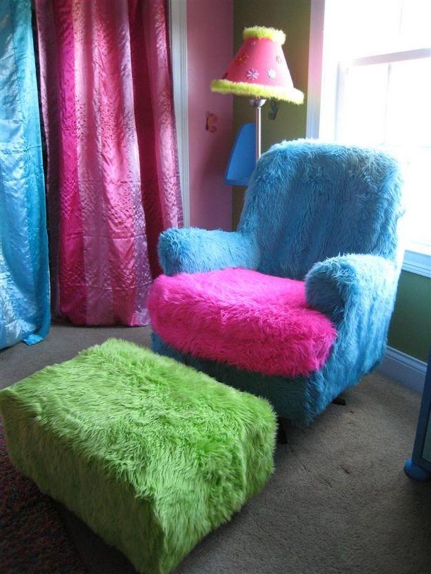 Чехол на домашнее кресло своими руками 29