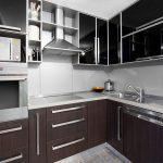 Маленькая дизайнерская кухня