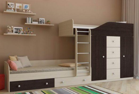 Мебель для двоих детей