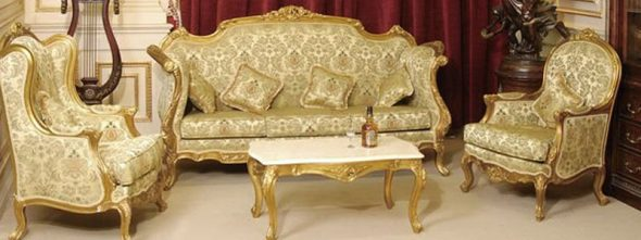 Мебель в гостиную в стиле барокко