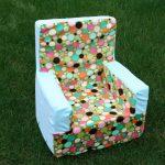 """Мягкое кресло """"Яркие шарики"""""""