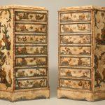 Необычный декор для реставрированной мебели