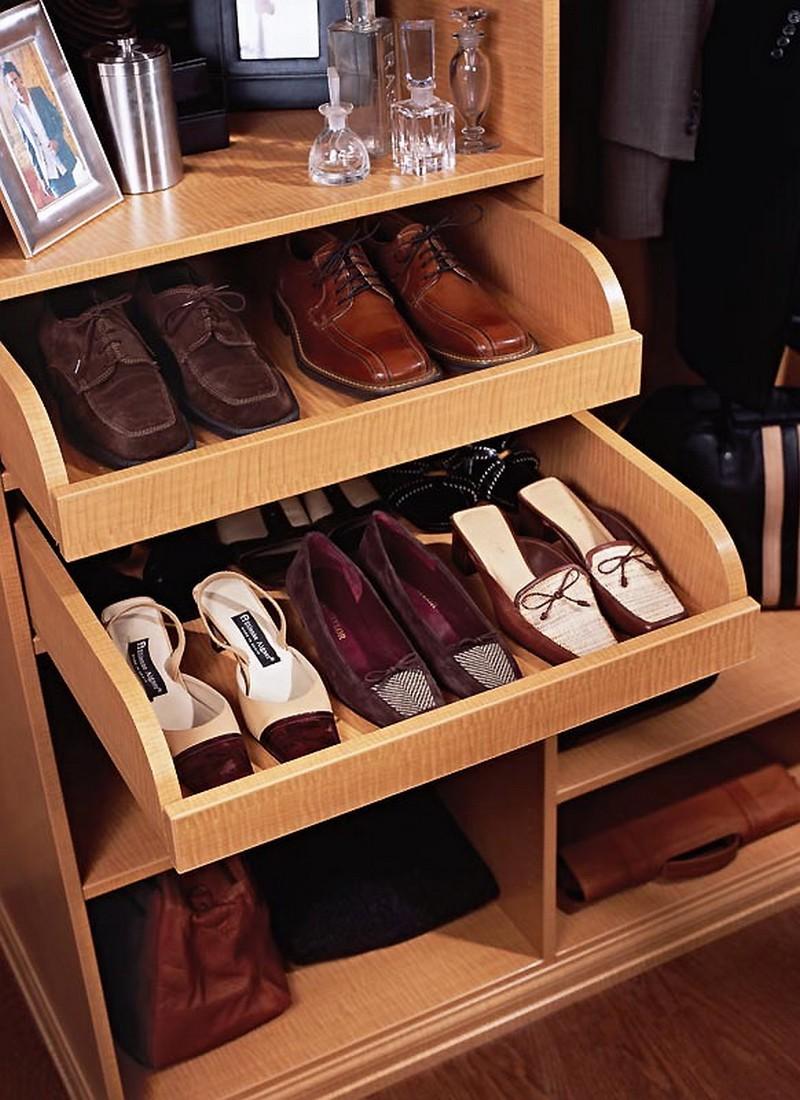 обувница с направляющими