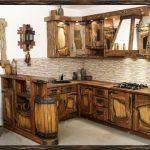 Очень необычные формы для кухонной мебели