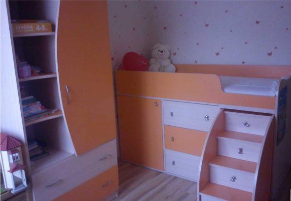 Оригинальная мебель в комнату малыша