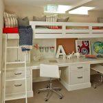 Оригинальная организация пространства для двоих детей
