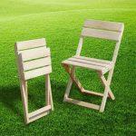 Оригинальный складной стульчик для дачи