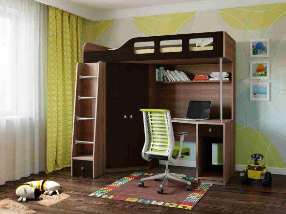 Подростковая комната для мальчика