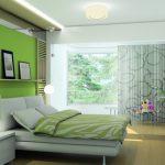 Продуманная спальня для отдыха