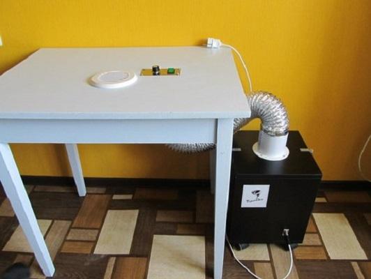 Пылесос для маикюрного стола