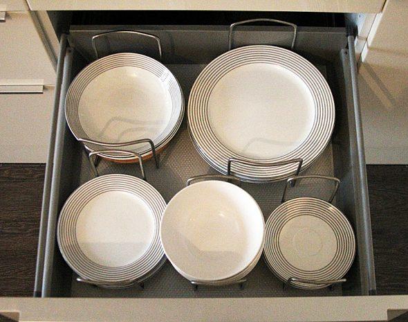 Разделители для тарелок по размеру