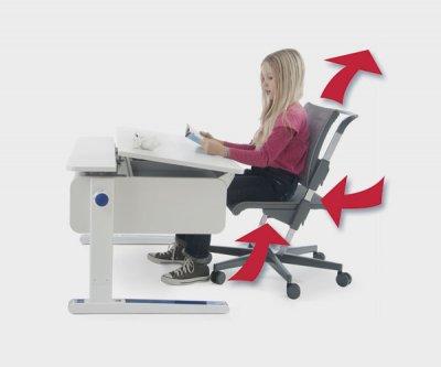 Регулируемое кресло для школьника