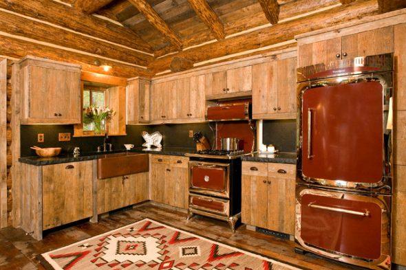 Кухня в стиле рустик