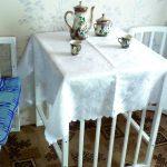 Столик и два кресла из детской кровати