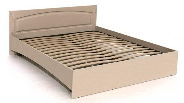 Каркас кровати из ДСП с ламелями