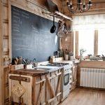 Уютная кухня своими руками