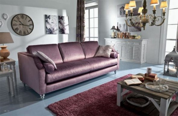 Уютная стильная комната для гостей