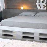 Большая кровать-подиум своими руками