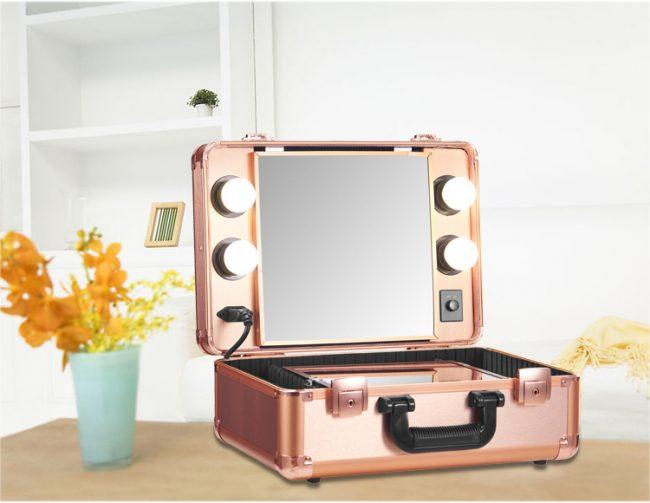 косметичка со встроенным зеркалом купить в москве массива