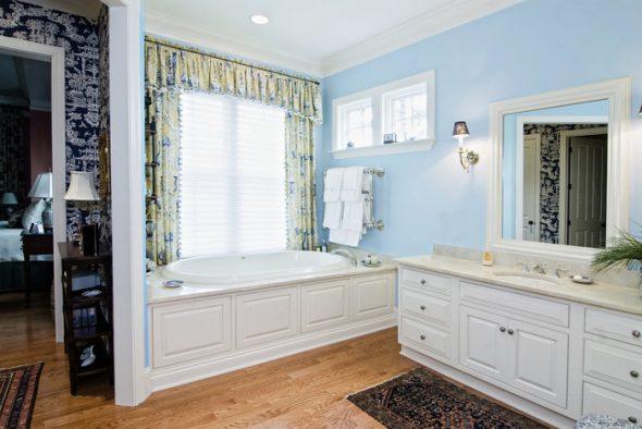 Чистота и уют в ванной комнате