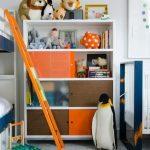 Детская комната для двоих старших детей и одного малыша