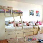 Двухъярусная диван-кровать для детской