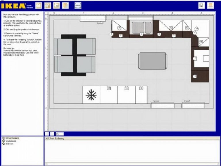планировщик мебели онлайн 3d мебель икеа