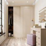 Комната с встроенным гардеробом и туалетным столиком