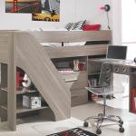Компактная и функциональная кровать-чердак