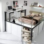Красивая и современная спальня для взрослого мальчика