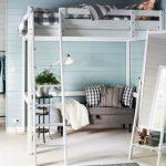Кровать-чердак подростковая в стиле лофт