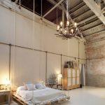 Мебель из поддонов отлично вписывается в стиль лофт