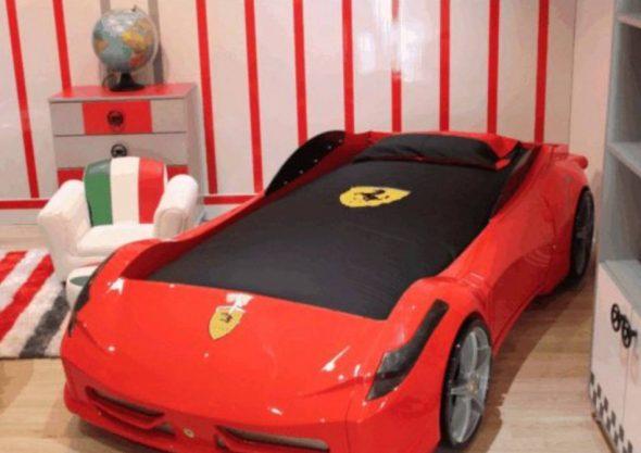 Кровать машина Titi F1 RED