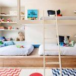 Кровать-подиум в детской