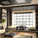 Легкость пространства – одно из требований фен-шуя гостиной