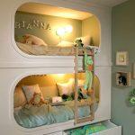 Необычная кровать в два яруса