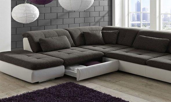 Необычный стильный диван