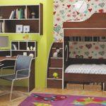 Подростковая спальня для двоих девочек