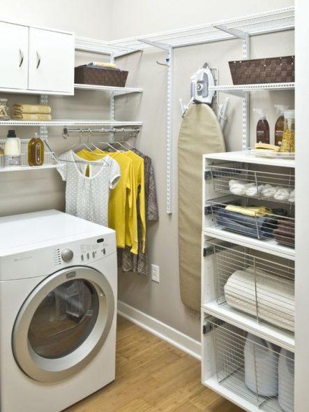 Полочки над стиральной машиной