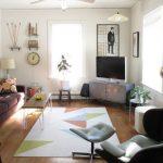 Пример закрывания углов в квартире по фен-шуй предметами мебели и декора