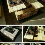 Раскладной стол из подручных материалов