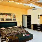 Расположение мебели в спальне по фен шуй