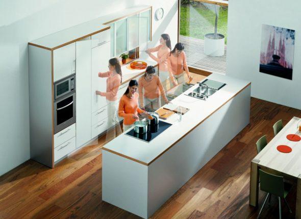Мебель и техника на кухне