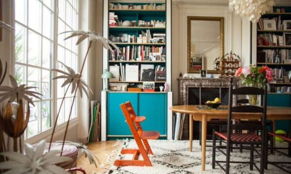 Растущий стул на кухне