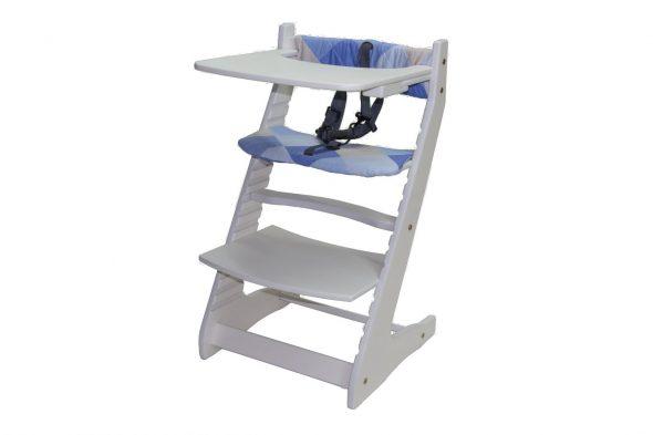 Растущий стул с подставкой для кормлени