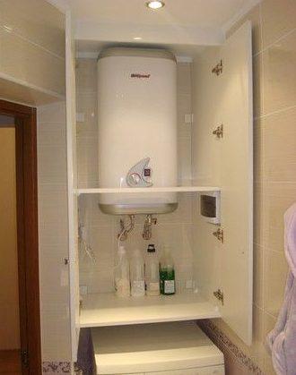 Шкаф для бойлера над стиральной машинкой