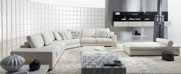 Современный стиль в интерьере комнаты