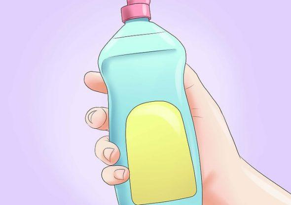 Средство для мытья посуды для жирных пятен