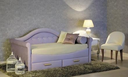 Стильная и удобная кровать