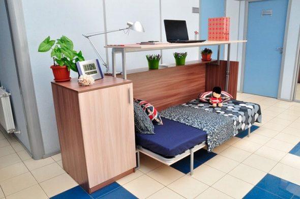 Трансформер кровать-стол